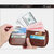 Men Genuine Leather RFID Blocking Wallet Vintage Organizer Zipper Wallet