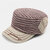 Mens Flat Top Hat Outdoor Warm Military Army Caps Flat Hats