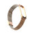 Metal Wave Style Watch Strap Replacement Watch Band for Xiaomi Miband 4