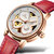TEVISE T835A Women Automatic Mechanical Watch Fashionable Genuine Leather Band Watch