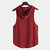 Mens Sports Gym Hooded Sleeveless Plain Breathable Quick-drying Casual Tops