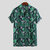 Mens Beach Casual Loose Short Sleeve Shirts Hawaiian Beach Button Blouse Holiday Tops