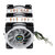 CPU Cooler 6 Heatpipe 4 Pin RGB Cooling Fan For Intel 775/1150/1151/1155/1156/1366 AMD