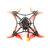 ハピモデル幼虫X 100mm Crazybee F4 PRO V3.0 2-3S 2.5インチFPVレーシングドローンBNF w / Runcam Nano2カメラ