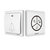 Linptech G1 Self-power Waterproof wireless Doorbell No Battery Home 25 Chime 1 Button 1/2 Receiver