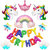 Cartoon Foil Balloons Happy Birthday Balloon for Baby Kids Birthday Wedding Party Supplies Decorations