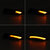 LED Dynamic Side Door Wing Mirror Indicator Lights Turn Lamps Smoked Black for Ford Fiesta B-Max 2008-2017