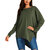 Women Long Sleeve Crewneck Loose Pullover Tunic Shirts