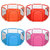 70x66CM Outdoor Travel 6 Sided Kids Playpen Baby Playing House Interactive Children Toddler Room Play Mat With Safety Gate