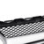 Sliver AMG Style Front Grill Mesh Grille For Mercedes Benz C Class W205 C200 C250 15-18