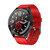 XANES® Q30 1.3 '' Full Touch IP67 Montre intelligente étanche Moniteur de fréquence cardiaque Chronomètre Compte à rebours Bracelet en silicone Bracelet de remise en forme