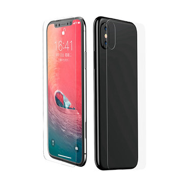 """Baseus 0.3mm Clear Front Rear Screen Protector For iPhone XR 6.1""""/iPhone XS Max 6.5"""""""