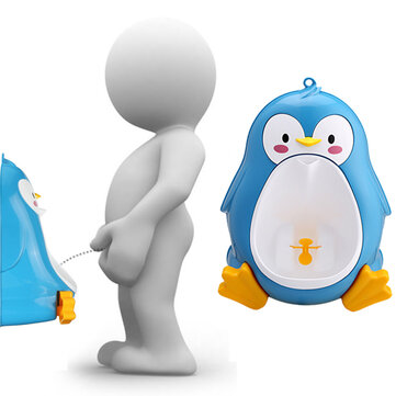 Baby Urinal Toddler Potties Boys Pee Trainer Children Removable Lovely Penguin Toilet Bathroom