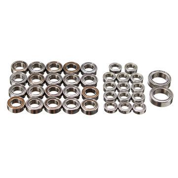 HG 1/10 P601 RC Crawller Car Spare Parts Bearing Set 36PCS