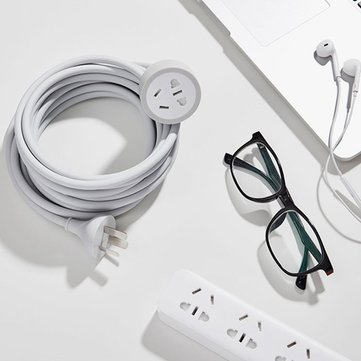 XIAOMI 4.8M Power Socket Extension Cord Extended Cable Wire Plug Extensions For Mijia Power Strips
