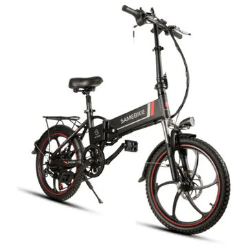 [EU Direct] Samebike XW-20LY 350W Smart Elektrische Vouwfiets 35 km / u Max. Speed 48V 8AH E-Bike batterij