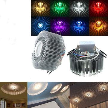 3W LED Aluminum Ceiling Light Fixture Corridor Balcony Pendant Lamp Lighting Chandelier