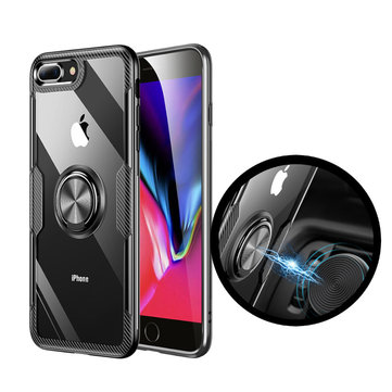 Bakeey Ring Holder Tempered Glass Protective Case  for iPhone 7 Plus/8 Plus