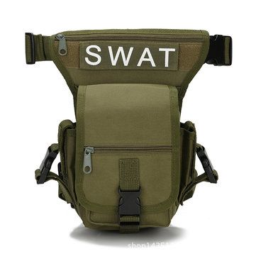 SWAT Hunting Multifunctional Tactical Multi-Purpose Bag Vest Taille de la pochette Leg Utility Pack