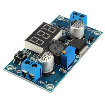 3Pcs LM2596 DC-DC Voltage Regulator Adjustable Step Down Power Supply Module With Display