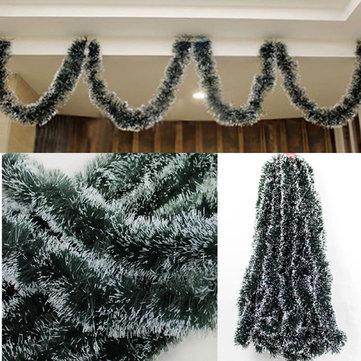 Decoração de fita verde-clara 2M de Natal Decoração de árvore de Natal Decoração Artigos para festa natalícia
