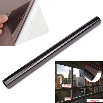50% Black Car Window Anti-UV Tint Protective Film 6Mx50cm