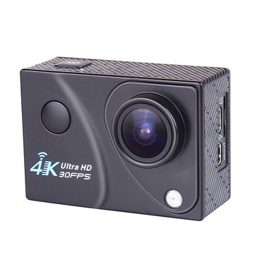 "XANES Q5H-2 4K Wifi 16M Pixels 2.0"" LCD 170° Wide Angle Night Fill Light Mini Sports Camera 3M Waterproof"