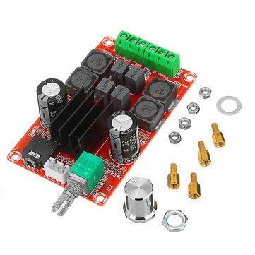 HIFI 2.0 TPA3116D2 2 x 50W رقمي صوت مكبر للصوت مكبر صوت ستيريو ثنائي القناة