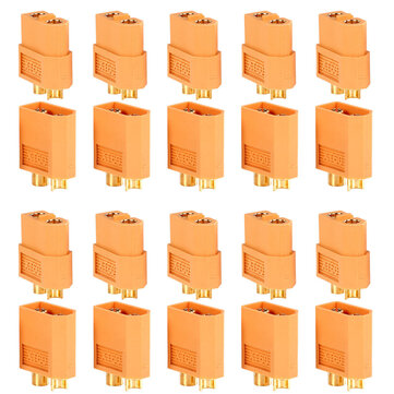 10Pairs/20pcs XT60 Plug Male Female Bullet Connectors For RC Drone Multirotor FPV Racing Battery