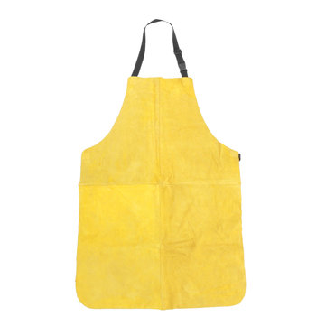 Welders Dual Leather Heat Insulation Protective Safety Welding Apron Full Length
