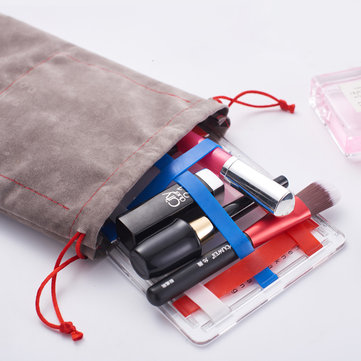 Portable Transparent Storage Board Cosmetic Bag Gift Creative With Makeup Mirror Storage Bag