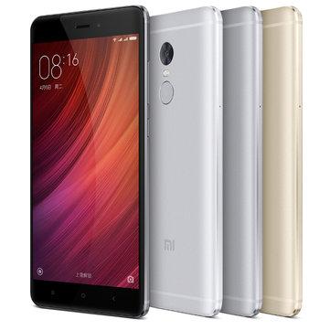 Xiaomi Redmi Note 4 指紋 5.5-インチ3GB RAM 64GB MTK X20 デカコア 4G スマートフォン
