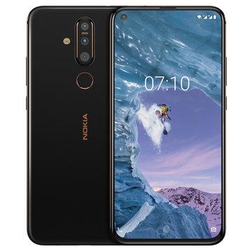 S$703.41Nokia X71 6.39 inch 48MP Triple Rear Camera 6GB RAM 128GB ROM Snapdragon 660 Octa core 4G SmartphoneSmartphonesfromMobile Phones &...