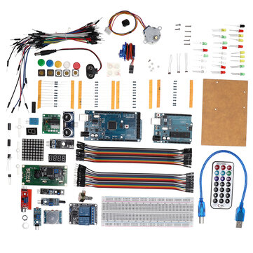 DIY KIT7 UNO R3 Mega 2560 Basic Starter Learning Kit Starter Kits