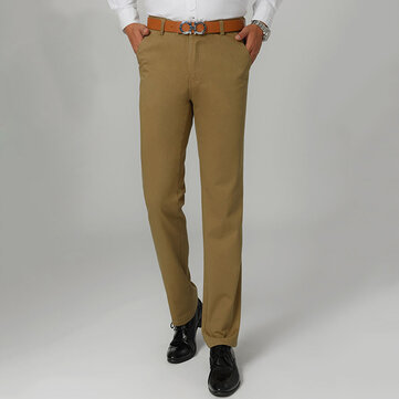 Big Size 30-46 Spring Summer Men's Casual Pants Loose Straight Cotton Thin Trousers