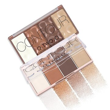 O.TWO.O Contour Palette Makeup Highlight Face Blush Naked Waterproof