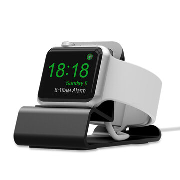 ألومنيوم أشابة شحن Dock Watch Stand Holder لسلسلة iWatch / Apple Watch 1/2/3/4