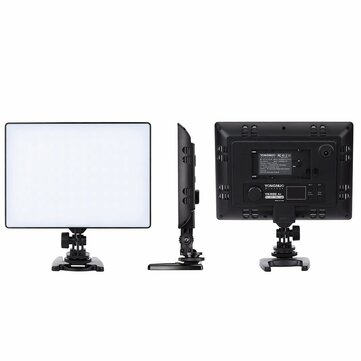 YONGNUO YN300 Air Ultra Thin Pro LED Cámara Luz de video 3200k-5500k Temperatura de color 2000LM