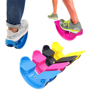 KALOAD ABS Foot Rocker Calf Ankle Stretch Board Muscle Stretch Foot Stretcher Yoga Massage Pedals