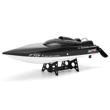 Feilun FT011 65cm 2.4g Brushless RC Barca ad Alta Velocità da Corsa con Sistema di Raffreddamento dell'acqua