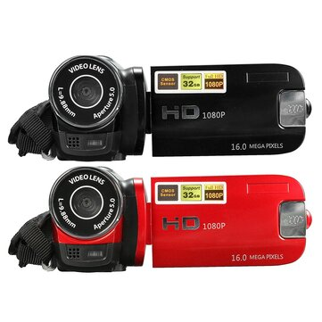 16MP 16X Zoom 2.7 Inch HD 1080P LCD Digital Video Camera Camcorder DV Touch Screen