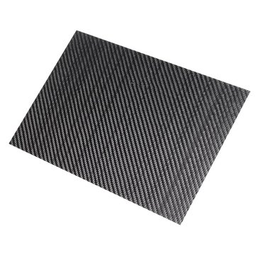 300x500x(0.5-5)mm 3K Black Twill Weave Carbon Fiber Plate Sheet Glossy Carbon Fiber Board Panel High Composite RC Material