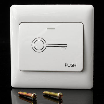 250V 6A Electric Doorbell Release Button Doorbell Push Switch
