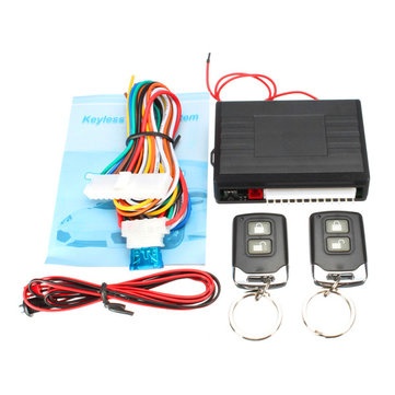 Universal Car Fernbedienung Zentralverriegelung Kit Türschloss Keyless Eintragungs System