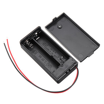 2 Slots AA Battery Box Battery Holder Board with Switch for 2 x AA Batteries DIY kit Case