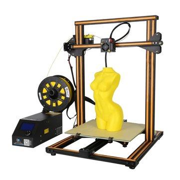 Creality 3D® CR-10S DIY 3D-printerkit 300 * 300 * 400mm Afdrukgrootte Met Z-as Dual T Schroefstang Motor Filament Detector 1.75mm 0.4mm Nozzle
