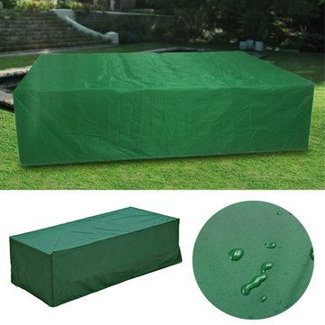210x140x80cm Outdoor Waterproof Patio Furniture Protective Cover For Table Bench Cube Garden