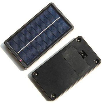 Portable Solar Powered Phone Charger Multifunction Solar Panel Charger
