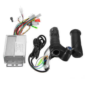 36V 350W Motor Brushless Controller + Throttle Twist Grip para Scooter elétrico Sctoote