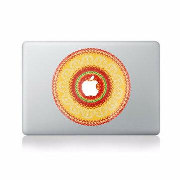 Mooi Bloemensticker Vinyl Sticker Skin Laptop Sticker Decal Voor Apple MacBook 11 '' 12 '' 13 '' 15 '' 17